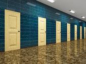 長い廊下 — ストック写真