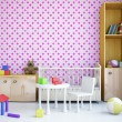 Nursery with bed — Stock Photo #23160516