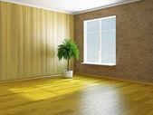пустая комната — Стоковое фото