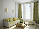 リビング ルームの家具 — ストック写真