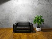Poltrona con cuscini — Foto Stock