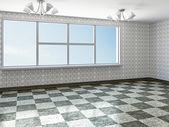 La stanza vuota — Foto Stock