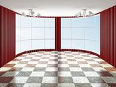 The empty room — Stock Photo