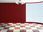 La habitación vacía — Foto de Stock