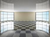 La sala vacía — Foto de Stock