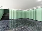 The big empty room — Stock Photo