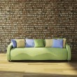 Sofa with cushions — Stock Photo #39479129