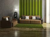 Sala minimalista — Foto de Stock