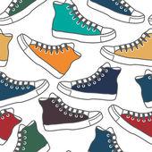 着色されたための半靴 — ストックベクタ