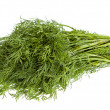 Stock Photo: Fresh dill isolated on white background