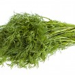 Fresh dill isolated on white background — Stock Photo