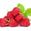 Raspberries isolated on white background — Stock Photo #32867405