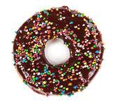 Tasty chocolate donut — Stock Photo