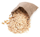Oat flake — Stock Photo
