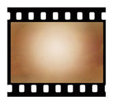 Old 35 mm film strip — Stock Photo