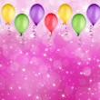 Abstract holiday pink bokeh background — Foto Stock