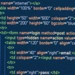 Computer Code HTML — Stock Photo #15383199