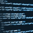 Computer Code HTML - Stock Photo