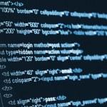 computador código html — Foto Stock #15713111