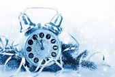 Rekreační zázemí. vánoční dekorace — Stock fotografie
