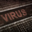 Computer virus detection. Spyware concept — Stock Photo