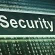 Stock Photo: Security concept. Technology background