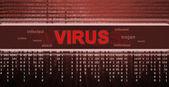 Computer virus detection. Spyware concept — Stock Photo