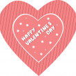 Valentine's Day card — Stock Vector #1881090