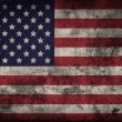 Grunge USA flag background — Stock Photo