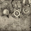 World War II Russimilitary medals — Stock Photo #25839247