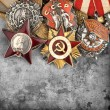 World War II Russimilitary medals — Stock Photo #25839275