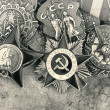 World War II Russian military medals — Stock Photo #25839293
