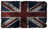 Grunge style British flag — Stock Photo