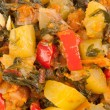 Stock Photo: Ragout of zucchini