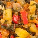 Ragout of zucchini — Stock Photo