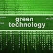 Green technology concept — Stock Photo