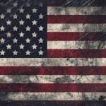 Grunge USA Flag — Stock Photo