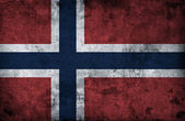 Grungy Norway Flag — Stock Photo