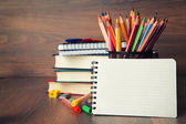 School stationary — Stock Photo