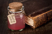 Healing red potion — Stock Photo