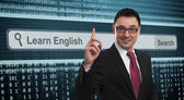 Learn english concept — Stok fotoğraf