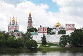 Novodevichy Monastery. Moscow, Russia — Stock Photo