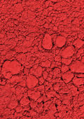 Red chemical powder — Stock Photo