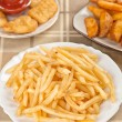 Fastfood. French fries — Stock Photo #50148505