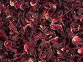Aromatic Hibiscus tea — Stock Photo