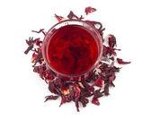 Aromatic Hibiscus tea — Stock Photo
