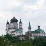Old orthodox cathedral in Feofaniya, Kiev, Ukraine — Stock Photo #12103321