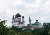 Staré ortodoxní katedrála v feofaniya, kyjev, ukrajina — Stock fotografie