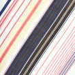 Stripe fabric texture — Stock Photo
