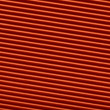 Texture of red corrugated paper for background used — Stock Photo